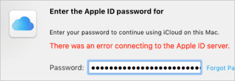 Fixed] There was an error connecting to the Apple ID server  Easily