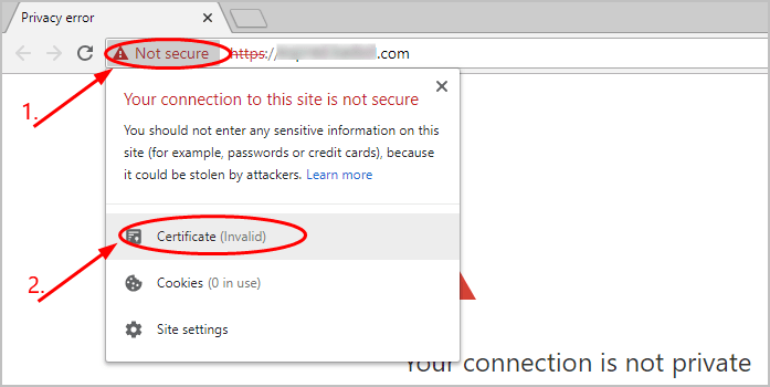 How to Fix NET::ERR_CERT_AUTHORITY_INVALID in Google Chrome
