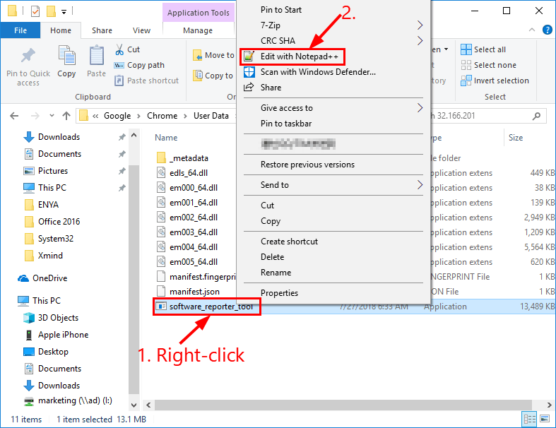 disable software_reporter_tool.exe