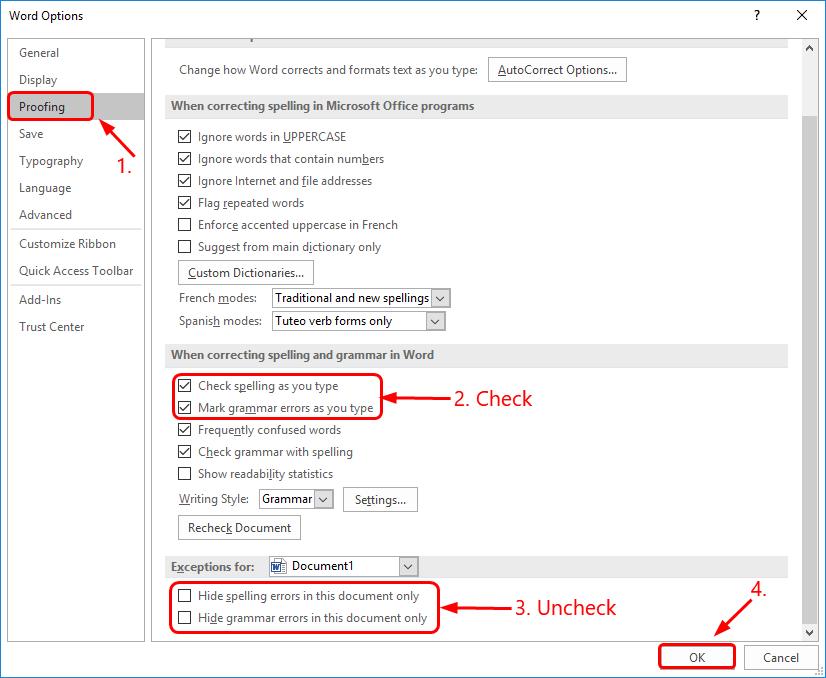 Word: Spell Checker Not Working [Solved] - Super Easy