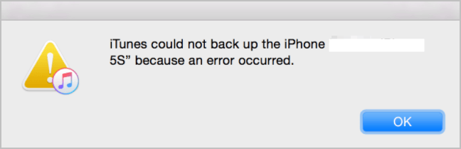 7 Fixes] to fix iTunes Could Not Backup iPhone Because an