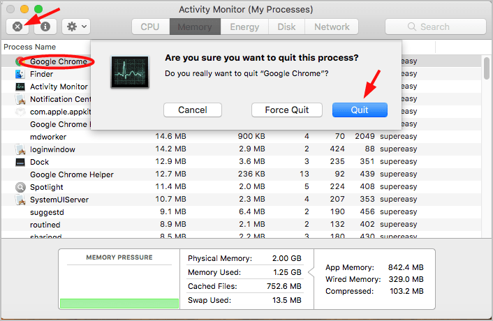 Solved: Your system has run out of application memory