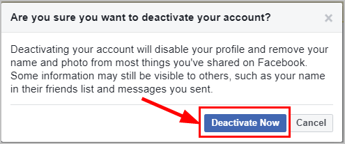 How To Deactivate Facebook [Easy Steps With Pictures] - Super Easy