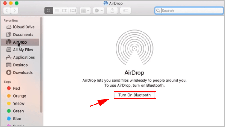 How to turn on AirDrop [with pictures] - Super Easy