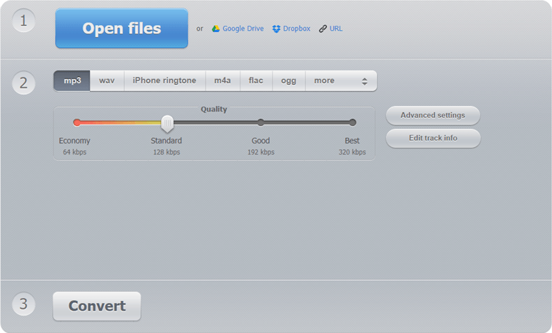 Convert M4A to MP3 with High Quality - Online, with iTunes