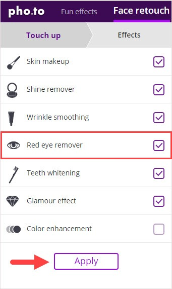  Fixed Remove Red Eye in Photos Quickly[Easy Steps]