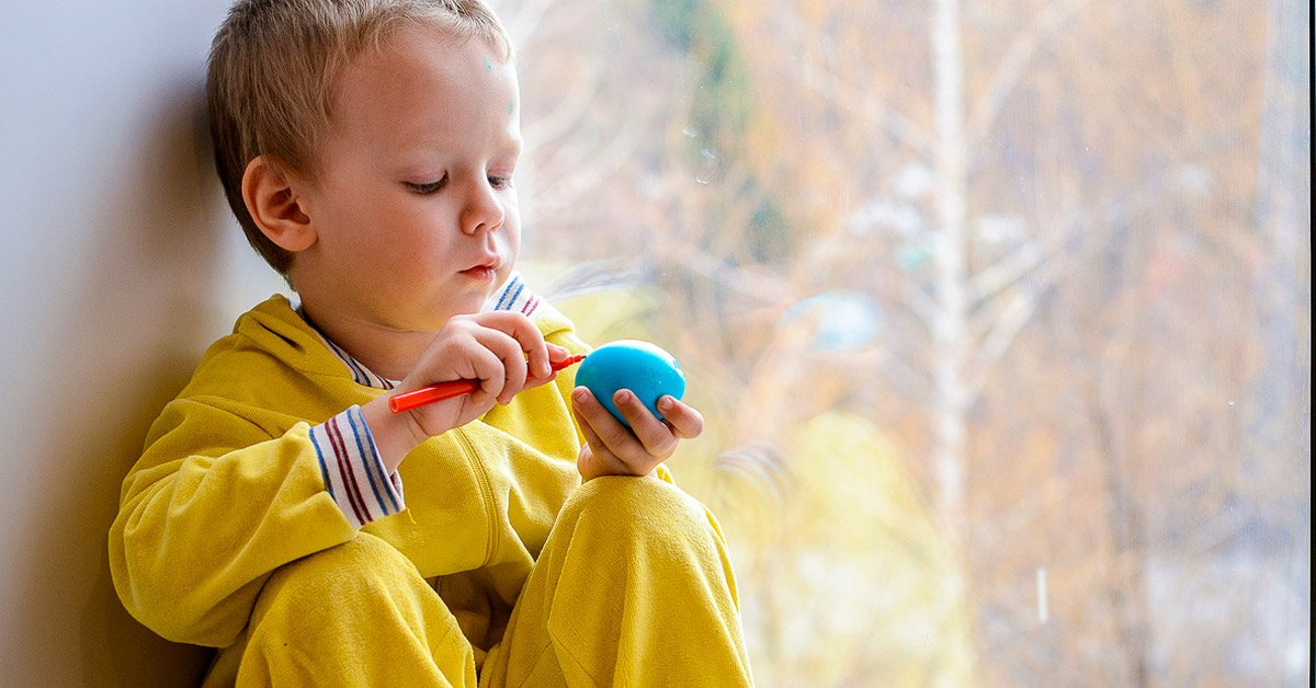 Kids with autism may be interested in peripheral parts of a toy