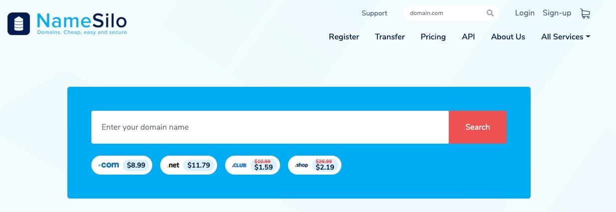 NameSilo coupons & deals Verified 2020