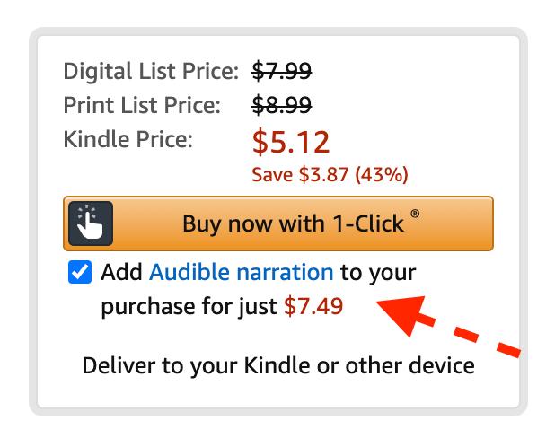 buy audible books cheaper