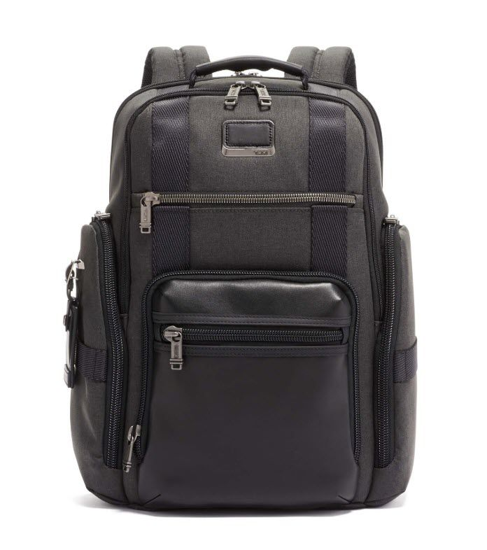 tumi backpack for business