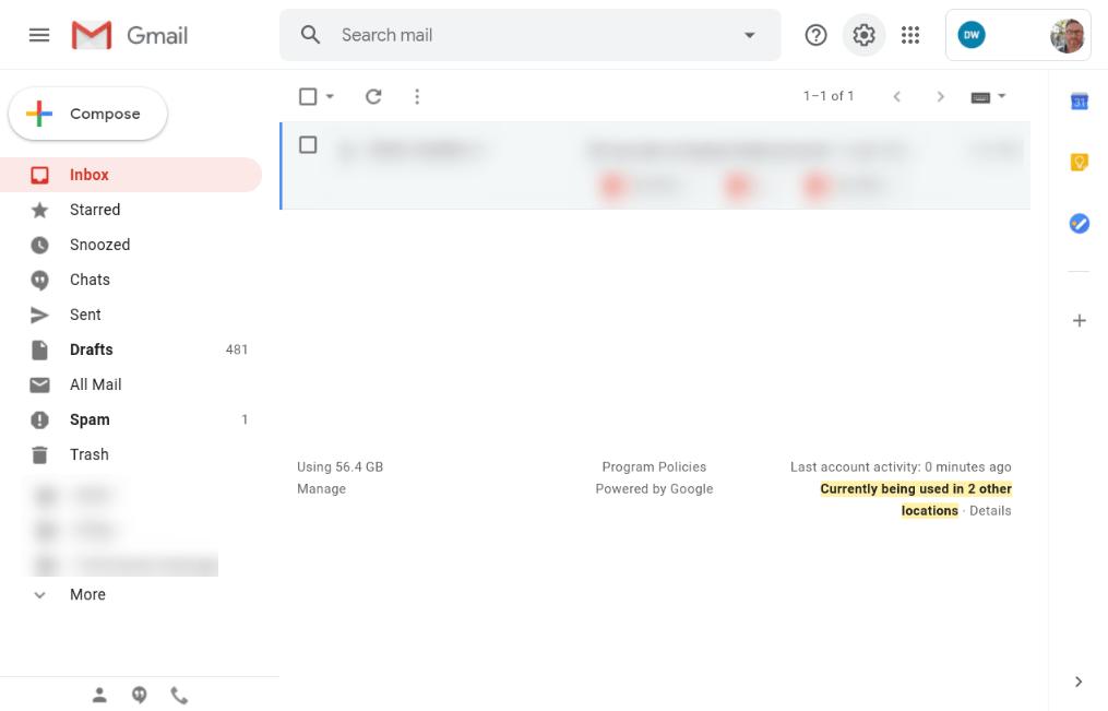 Open Gmail as Window