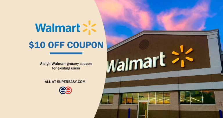 walmart grocery coupon for existing customers