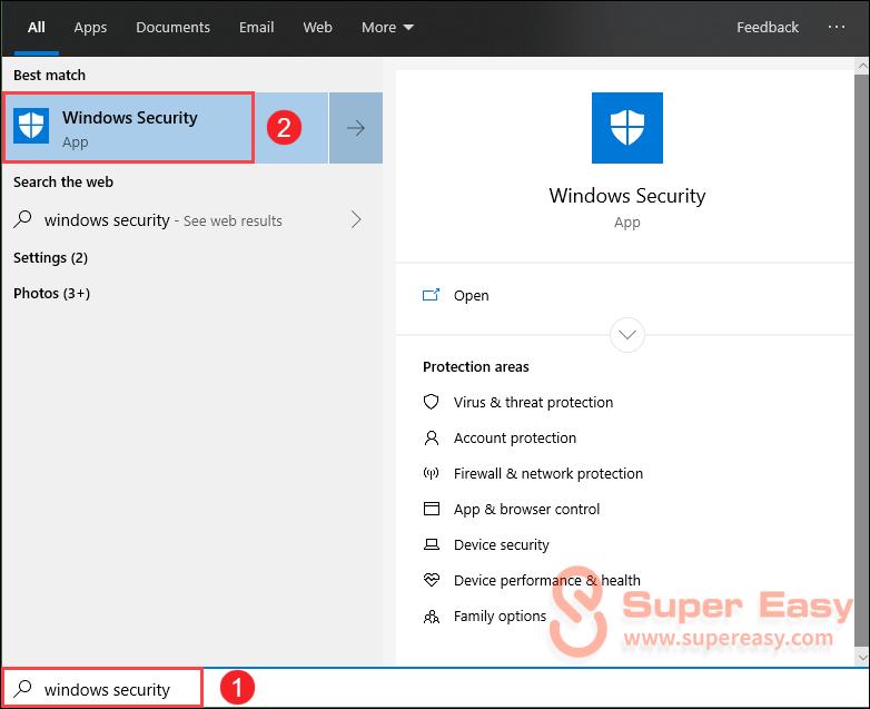 allow an app through windows firewall