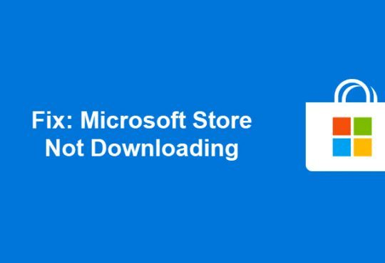 microsoft store not downloading