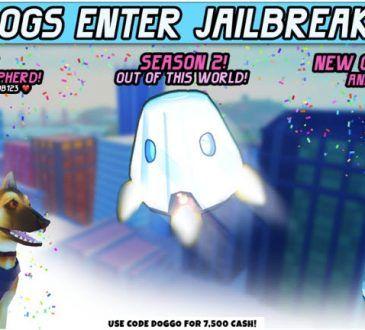 Latest Roblox Jailbreak codes DOGGO