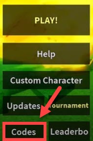 how to redeem a code in Roblox Dragon Ball Hyper Blood