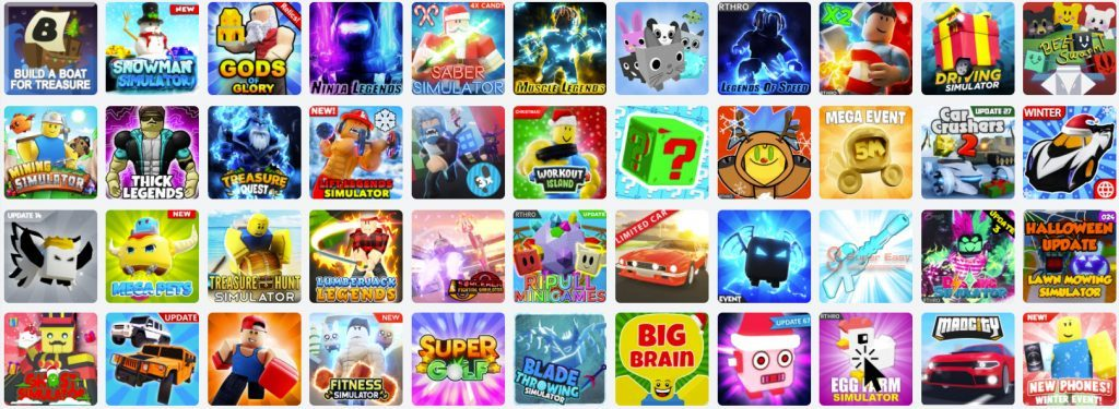Latest Roblox games codes