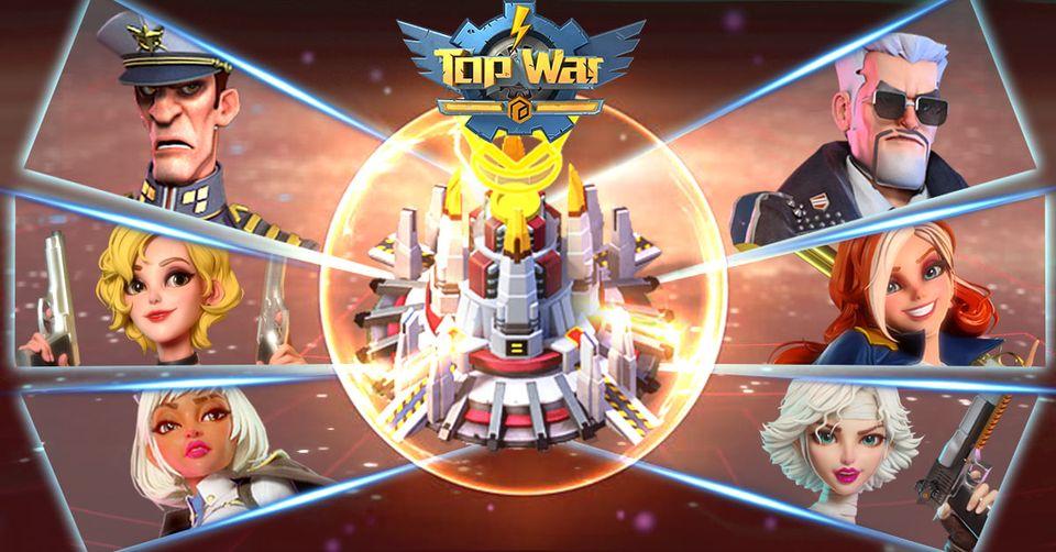 Top War: Battle Game gift codes
