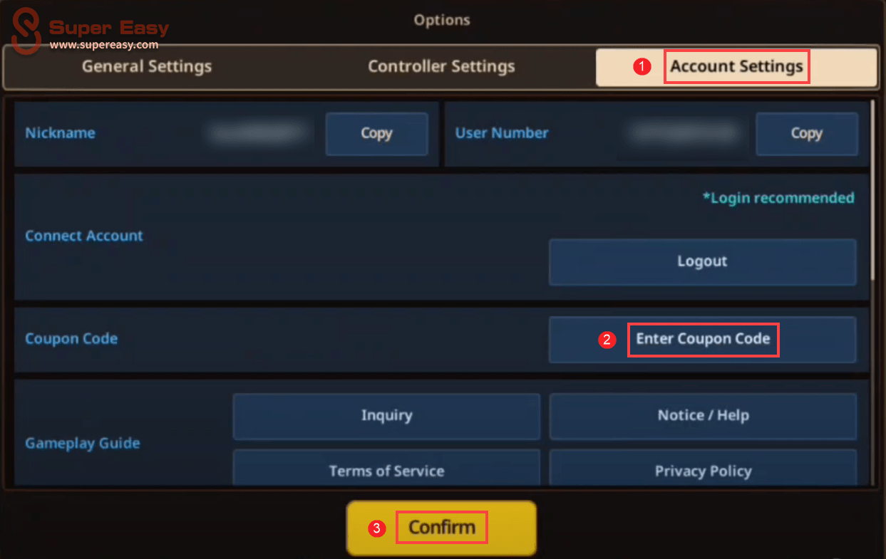how to redeem a coupon code in Guardian Tales
