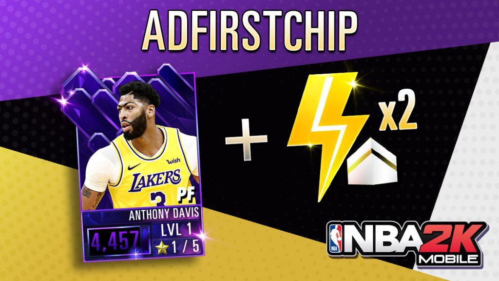 NBA 2K Mobile Anthony Davis code
