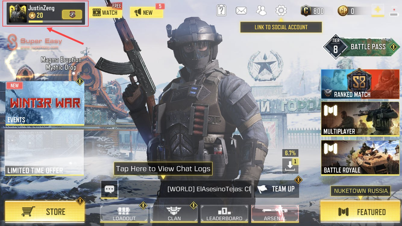 COD Mobile how to find UID