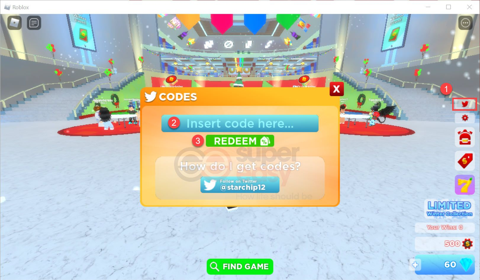 How to redeem New Roblox Uno codes