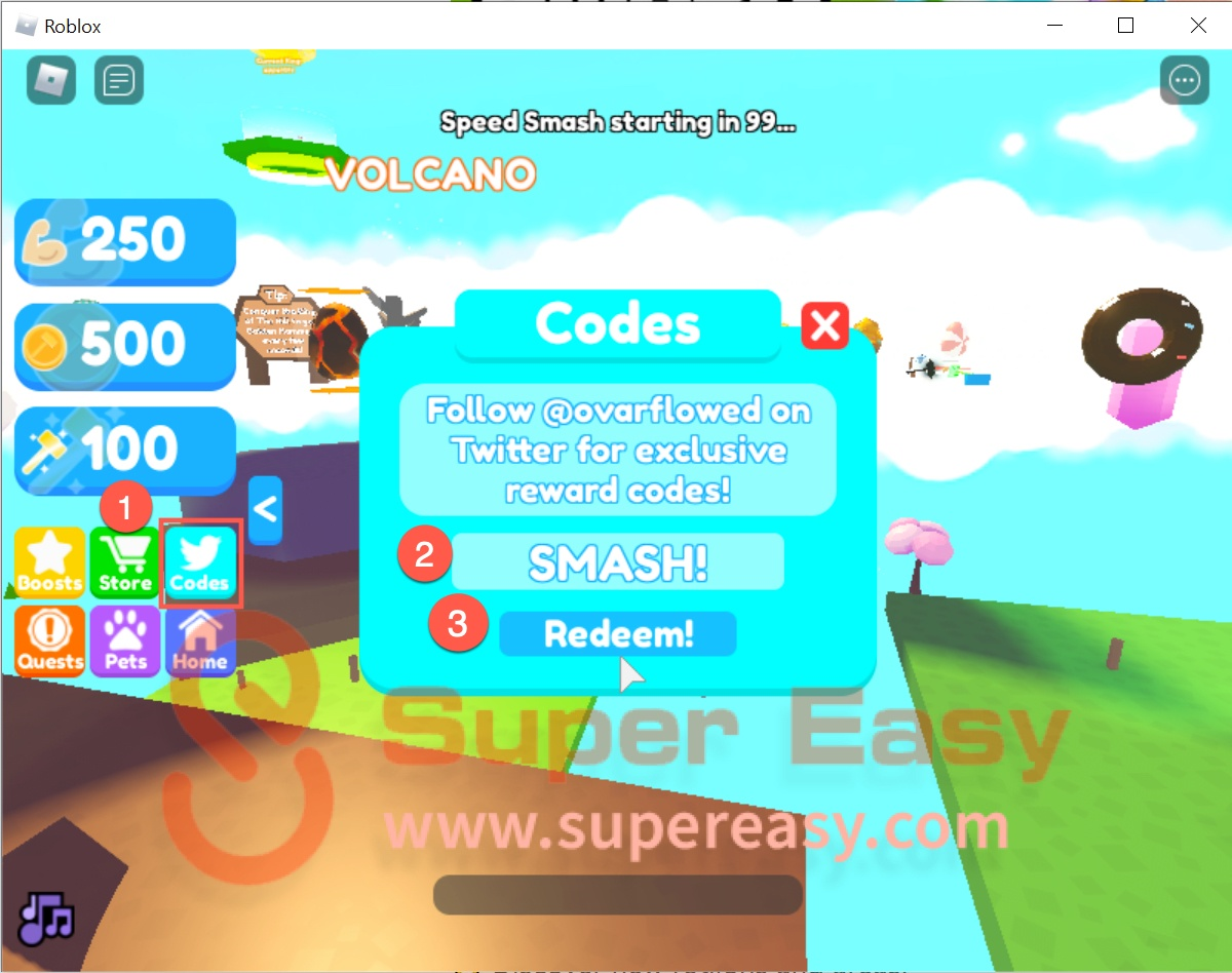 How to redeem Smash Legends codes