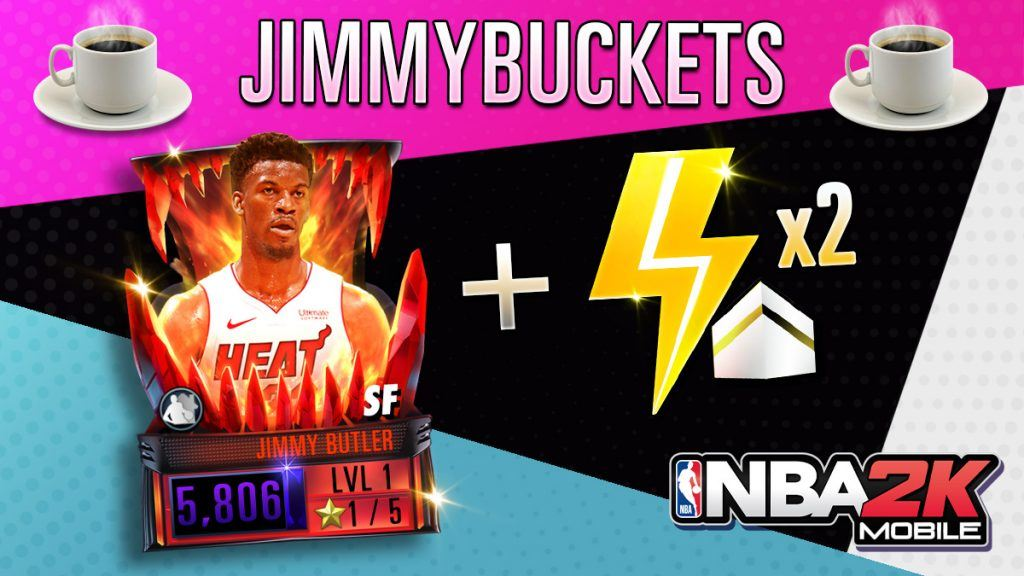 NBA 2K Mobile Jimmy Butler code
