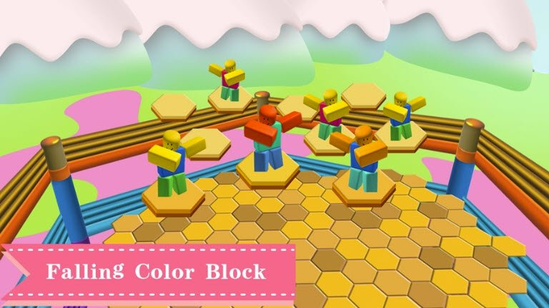 Latest Falling Color Block codes