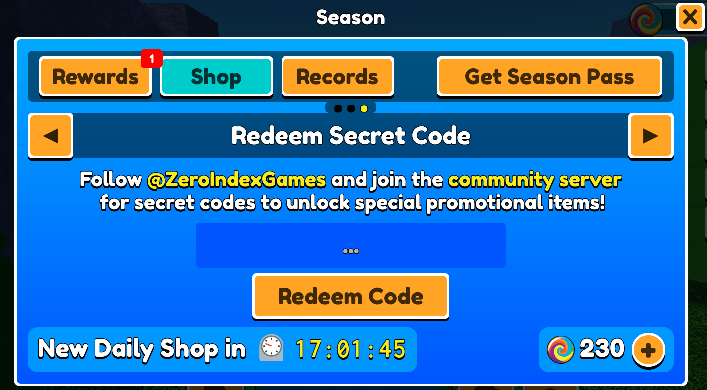 how to redeem a code in Roblox Wizard Cats