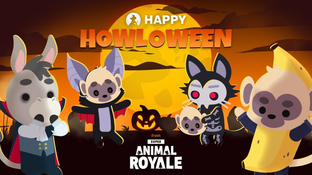 Super Animal Royale holiday code HOWLOWEEN