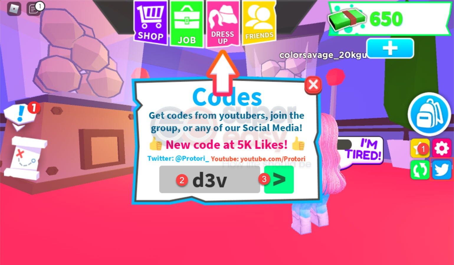 How to redeem Baby City codes