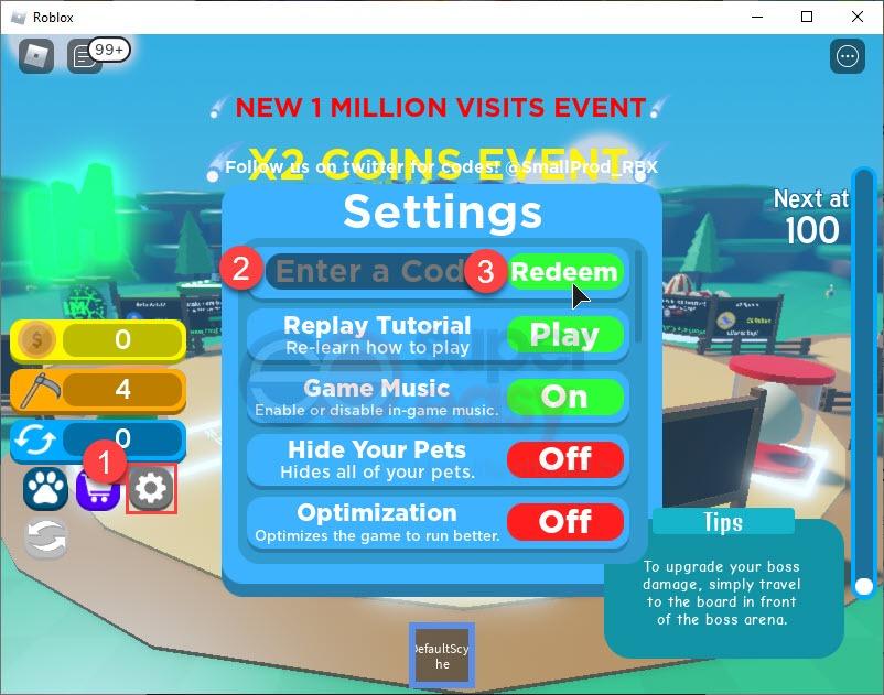 How to redeem latest Scythe Simulator codes