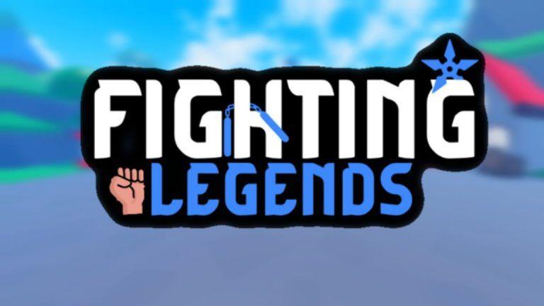 Fighting Legends codes