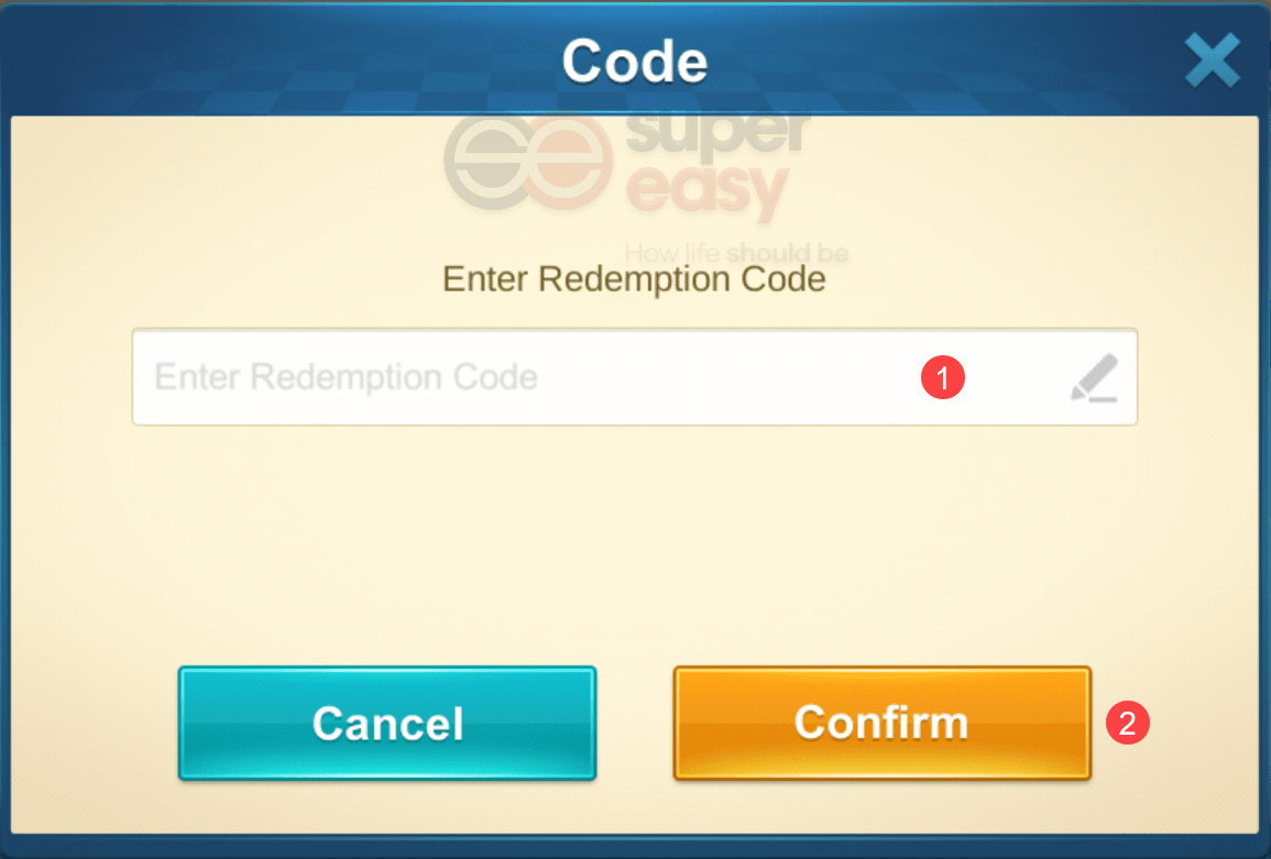 how to redeem a code in Idle Legend