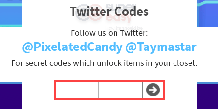 how to redeem a code in Roblox Fashion Famous