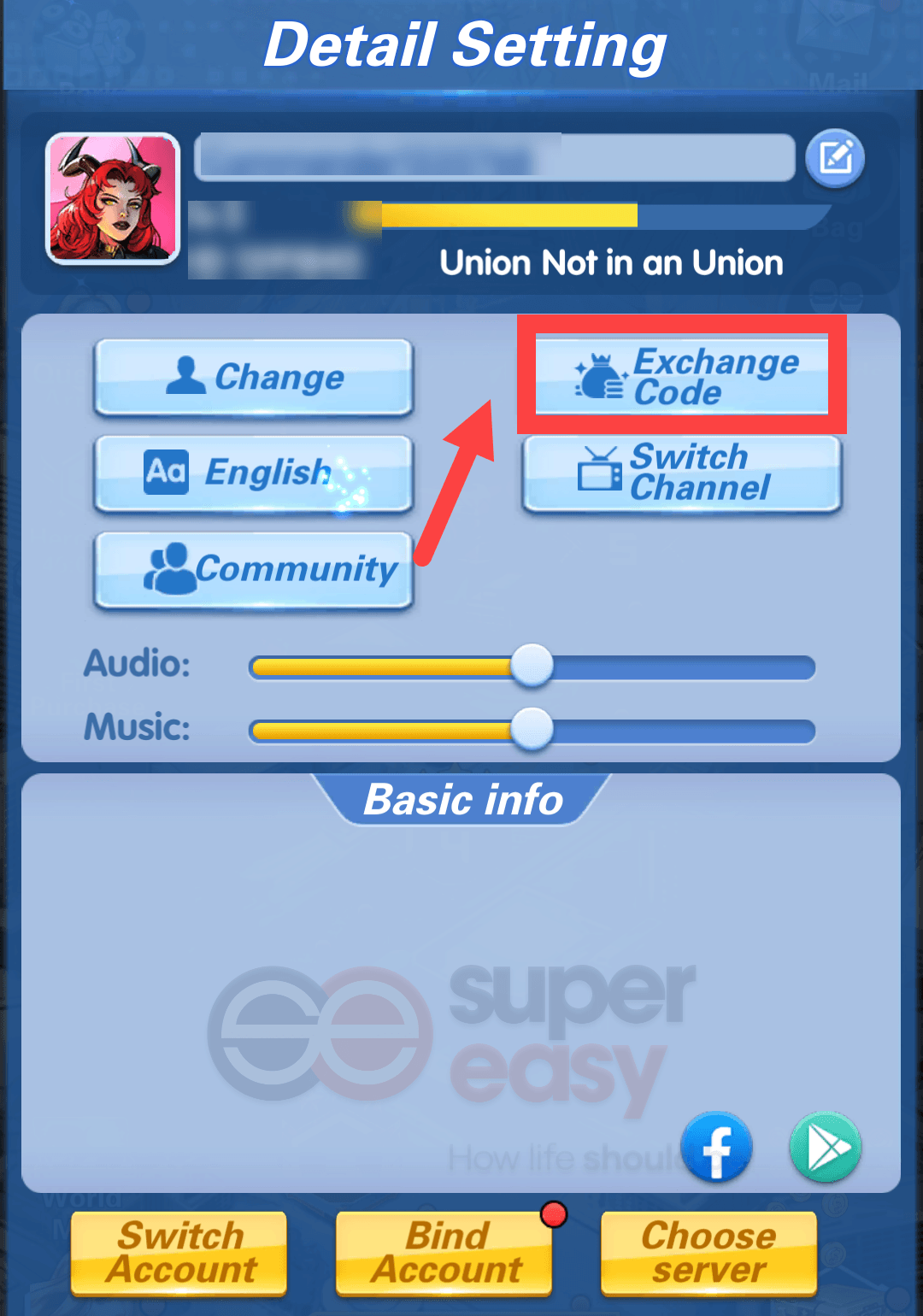 how to redeem a code in X-Hero: Idle Avengers