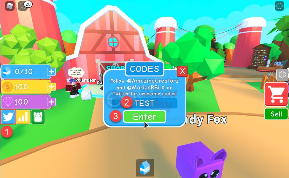How to redeem Milk Simulator codes