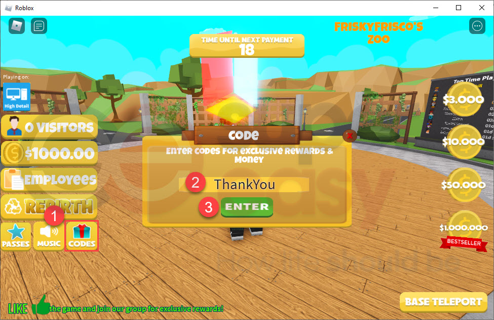 how to redeem Zoo Tycoon codes