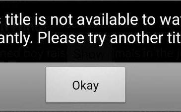 netflix title is not available to watch instantly