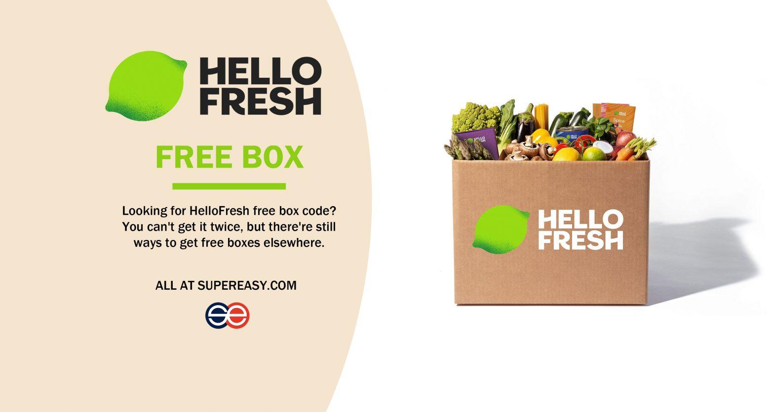 hellofresh free box code
