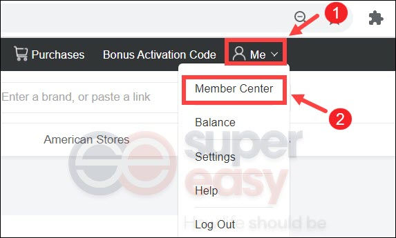 how to request a payement at Extrabux