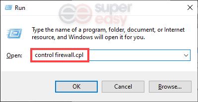control firewall.cpl