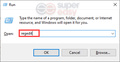 how to open Registry Editor
