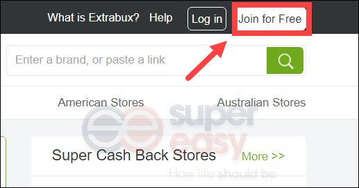 how to sign up at Extrabux.com