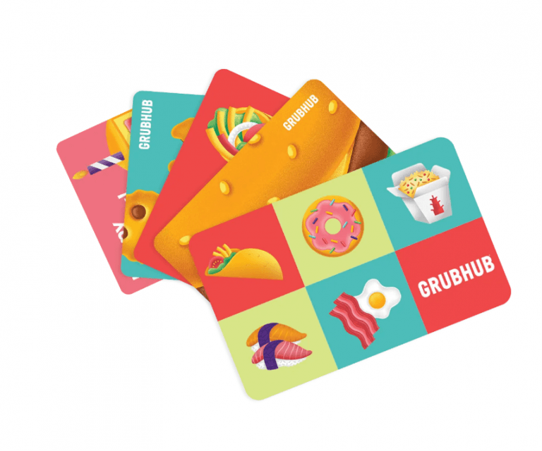 how to use a Grubhub gift card