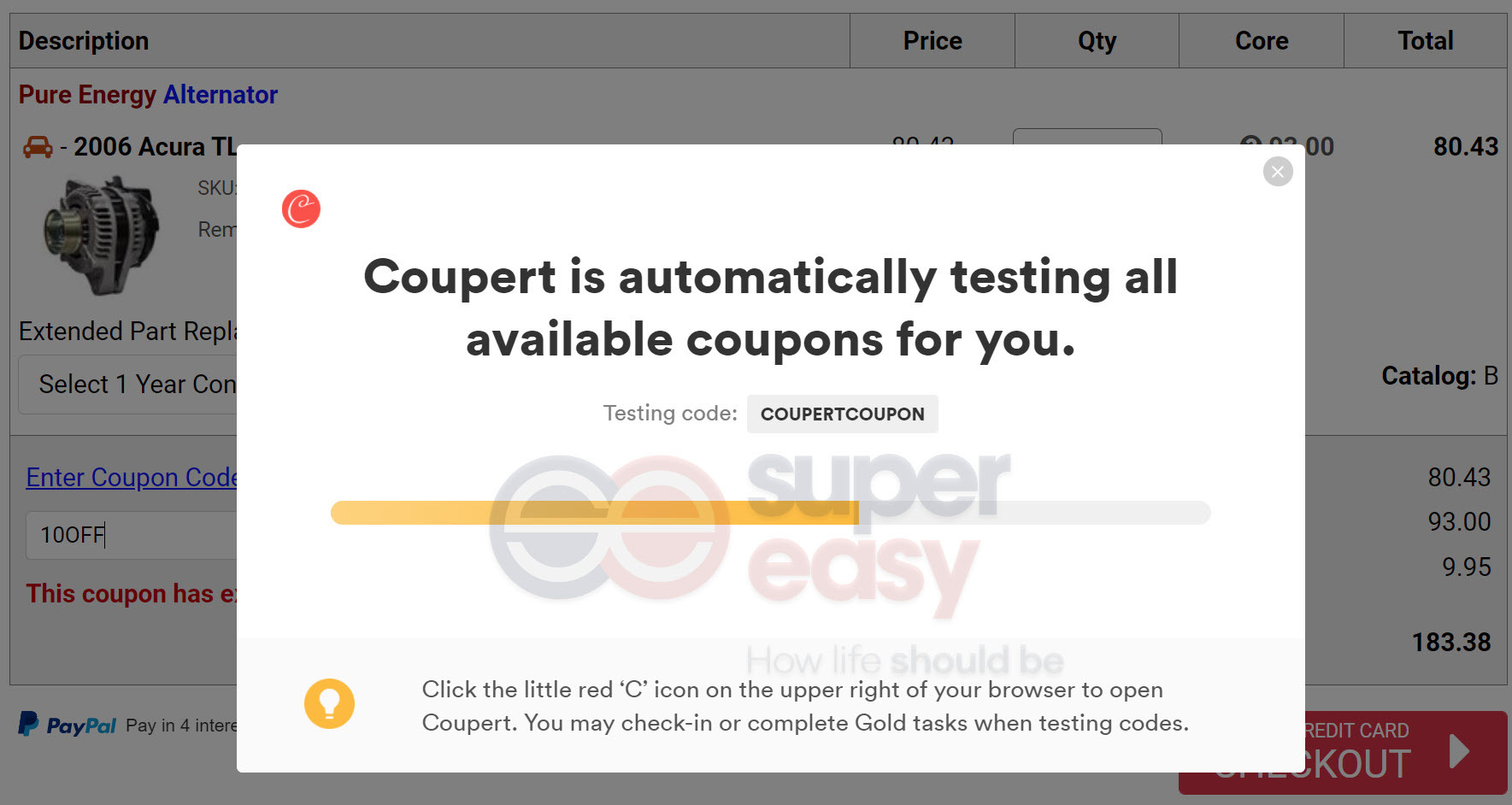 Parts Geek coupons coupert searching