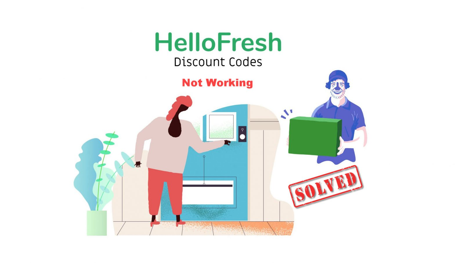 How to fix HelloFresh promo codes not working