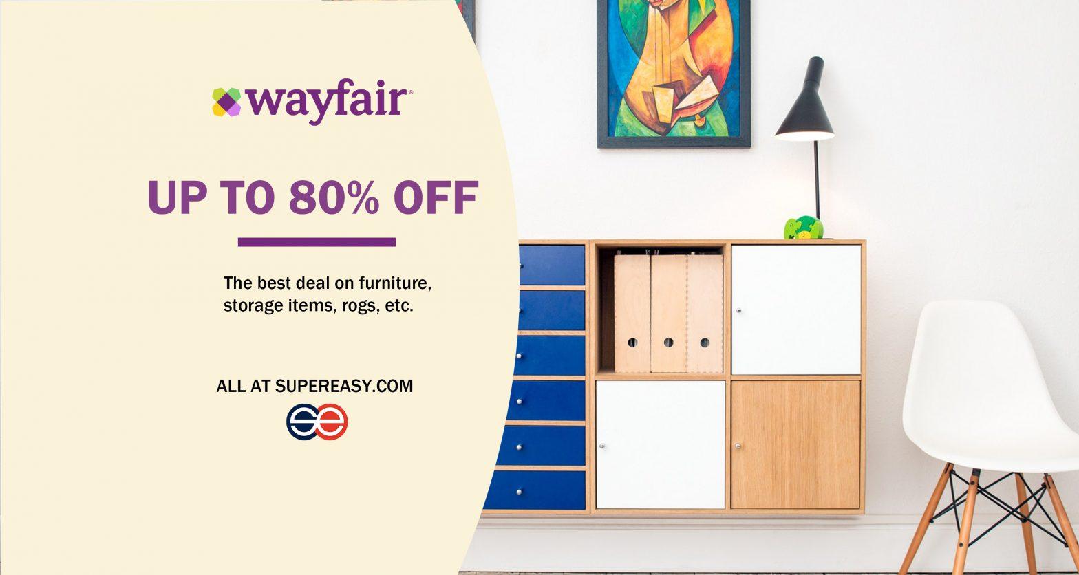 waufair 80% off