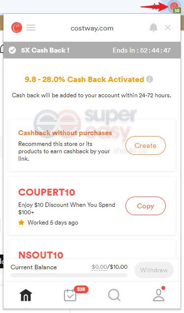 Costway discount codes Coupert